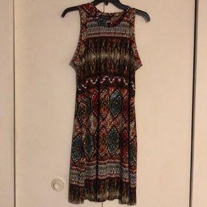 Karen Kane multicolored dress size Large